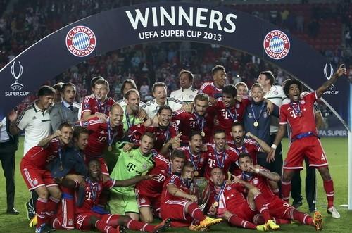 Bayern Munich giành danh hiệu Siêu Cúp châu Âu ảnh 1