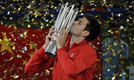 Djokovic chật vật bảo vệ ngôi vương ảnh 1