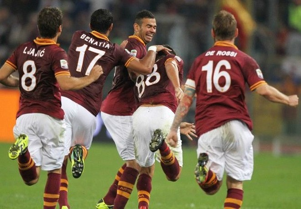 AS Roma bứt phá ở Seria A ảnh 1