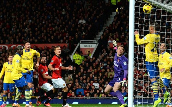 Arsenal lại thất bại tại Old Trafford ảnh 1