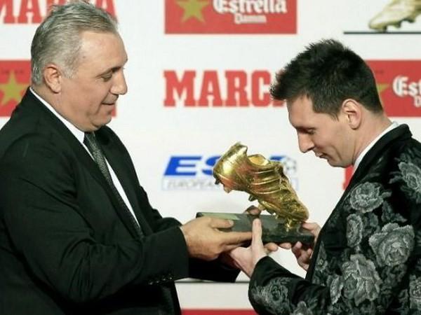 Messi giành giải Chiếc giày vàng ảnh 1