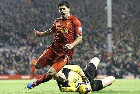 """Suarez giúp Liverpool """"thoát chết"""" tại Anfield ảnh 2"""