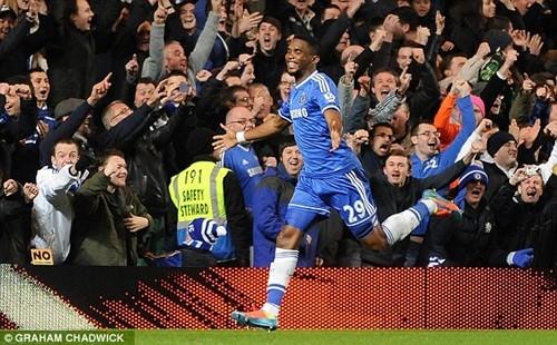 Chelsea phá tan giấc mơ bảo vệ ngôi vương của MU ảnh 1