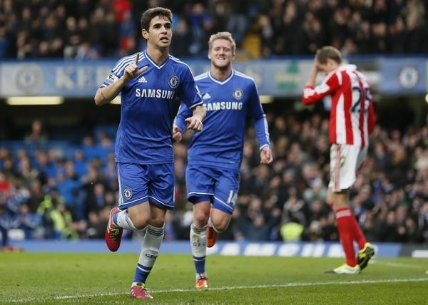 Không Mata, Chelsea vẫn đánh bại Stoke ảnh 1
