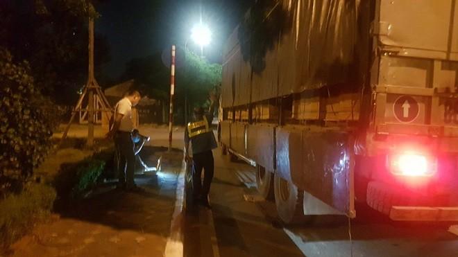 Thanh tra giao thông phát hiện xe ôtô vi phạm trọng tải 'khủng' ảnh 2