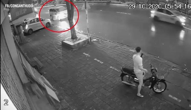 Công an truy tìm chủ phương tiện gây tai nạn tại thị trấn Phùng rồi bỏ trốn ảnh 1