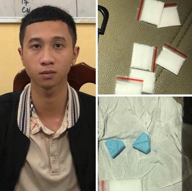 Bắt nam thanh niên thuê xe taxi đi bán ma túy trong đêm ảnh 1