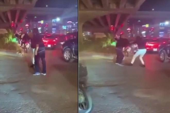 Tại cơ quan Công an, người đàn ông thừa nhận hành vi đánh người trên đường Khuất Duy Tiến ảnh 1