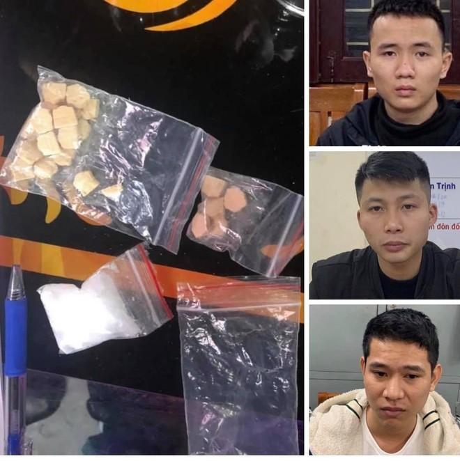 Hà Nội: Tạm giữ hình sự 3 đối tượng trong vụ bắt quả tang hàng chục thanh niên 'bay lắc' trong quán bar ảnh 1