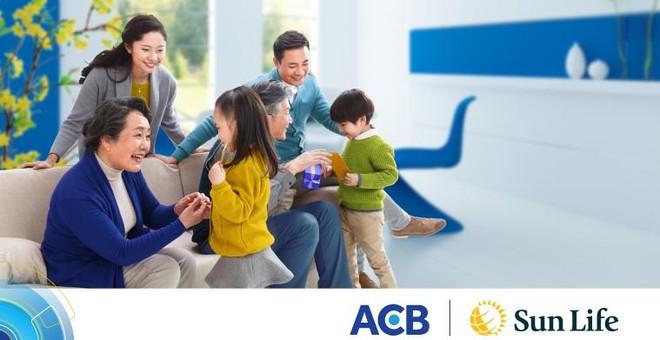 Hàng nghìn quà tặng hấp dẫn từ Sun Life Việt Nam qua kênh phân phối Ngân hàng ACB ảnh 1