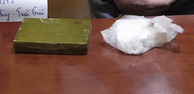 'Xách' 2 bánh heroin từ Điện Biên về Hà Nội ảnh 2