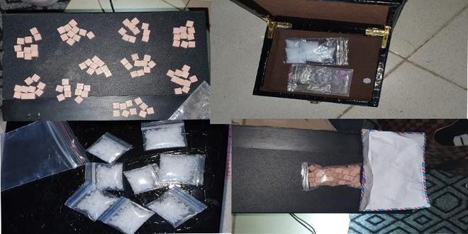 Bắt quả tang gã trai 9X giấu hơn 100 viên ma túy tổng hợp trong phòng trọ ảnh 2
