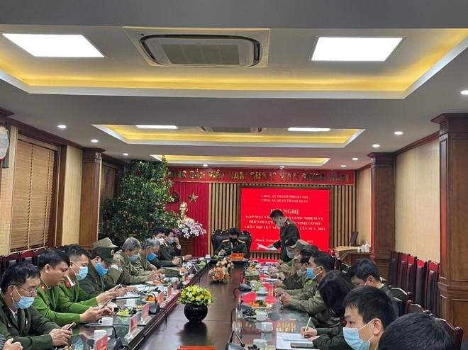 Nỗ lực của lực lượng an ninh cơ sở góp phần giữ bình yên địa bàn ảnh 1