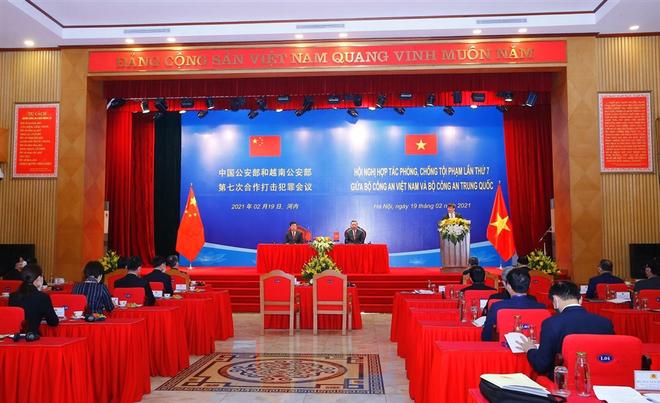 Bộ Công an Việt Nam - Trung Quốc tăng cường hợp tác phòng, chống tội phạm ảnh 2