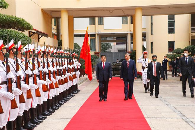 Bộ Công an Việt Nam - Trung Quốc tăng cường hợp tác phòng, chống tội phạm ảnh 1