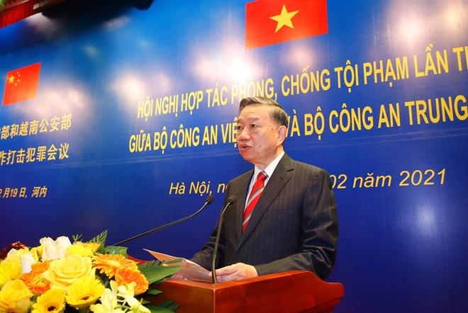 Bộ Công an Việt Nam - Trung Quốc tăng cường hợp tác phòng, chống tội phạm ảnh 3