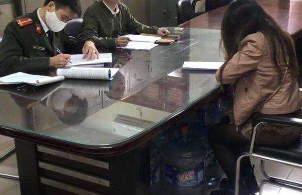 Công an huyện Gia Lâm phạt 2 phụ nữ đăng tin sai sự thật về dịch Covid 19 ảnh 1