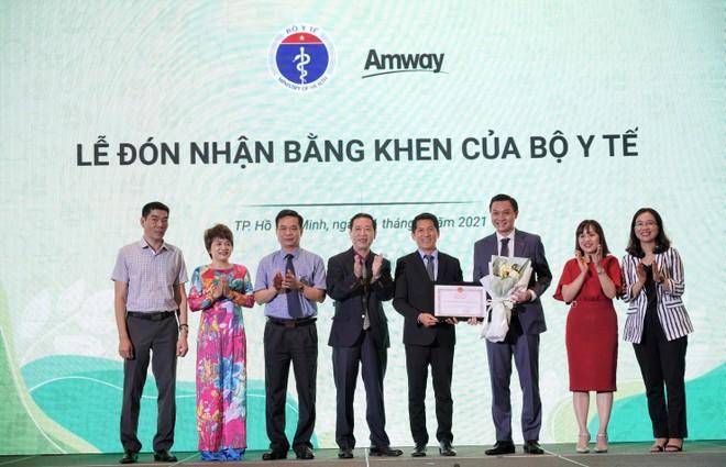 Amway Việt Nam tự hào lần thứ 2 đón nhận bằng khen của Bộ Y tế ảnh 1