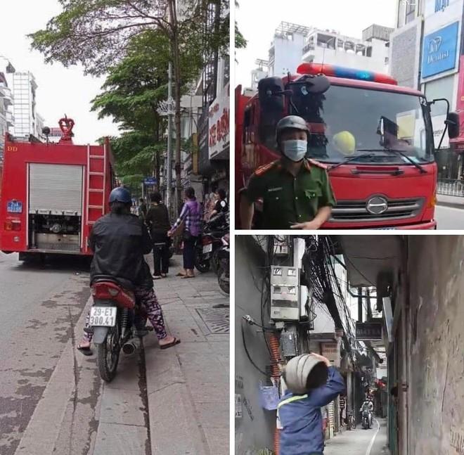 Xảy cháy ngôi nhà trong ngõ Thịnh Hào 3, phố Tôn Đức Thắng ảnh 1