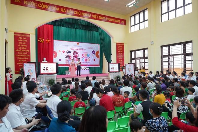 Chương trình giáo dục cộng đồng tiếp cận hơn 300 phụ huynh và trẻ mầm non tỉnh Bắc Ninh ảnh 1