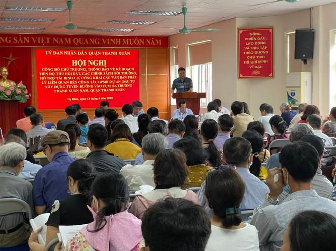 Quận Thanh Xuân triển khai dự án xây dựng tuyến đường vào cụm ba trường Thanh Xuân Nam ảnh 2
