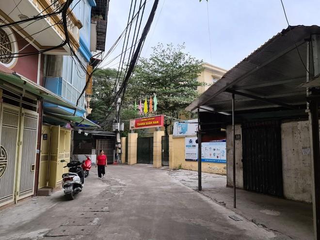 Quận Thanh Xuân triển khai dự án xây dựng tuyến đường vào cụm ba trường Thanh Xuân Nam ảnh 1