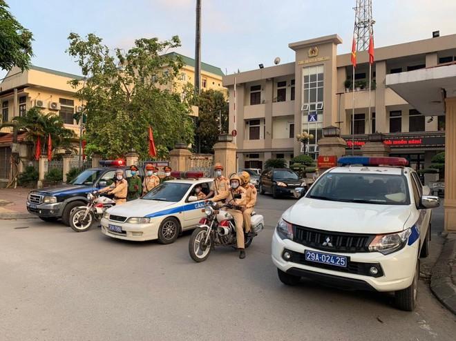 Công an Hà Nội triển khai cao điểm bảo đảm trật tự an toàn giao thông, trật tự xã hội ảnh 1