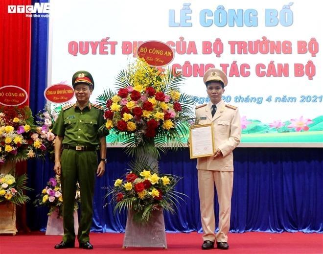 Bổ nhiệm Giám đốc Công an tỉnh Bắc Ninh ảnh 1