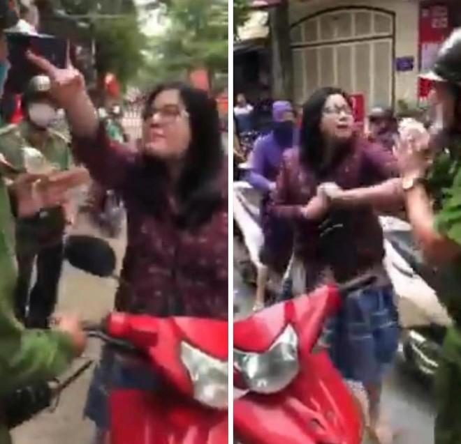 Xử lý người phụ nữ lăng mạ, tấn công Cảnh sát ảnh 1