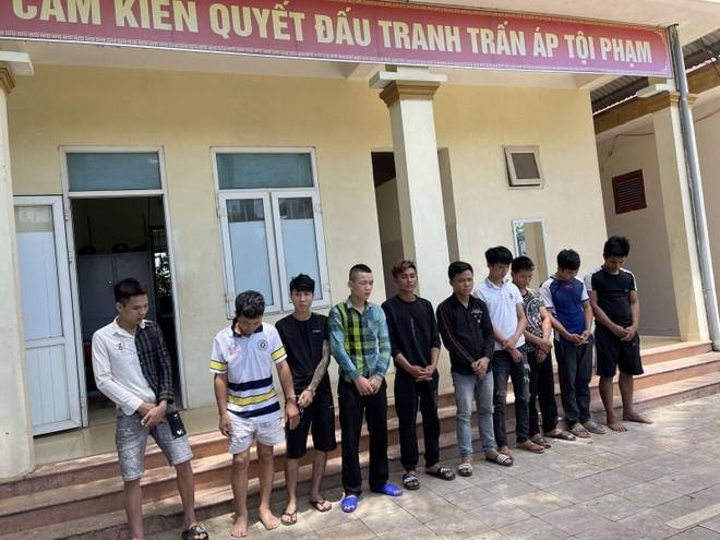 Nhóm thanh niên tụ tập sử dụng ma túy trong nhà thuê trọ ảnh 1