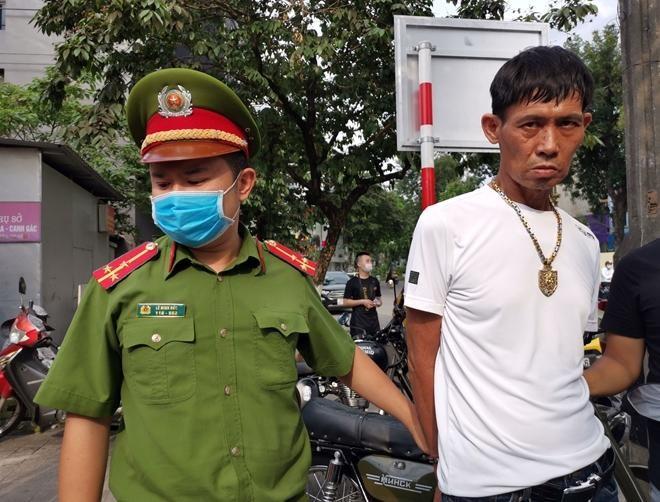 Cảnh sát 141 bắt quả tang đối tượng tàng trữ ma túy ảnh 1