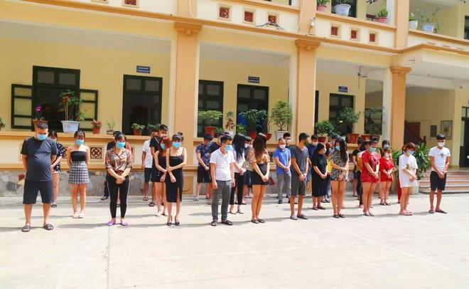 Thông tin tiếp vụ 33 nam nữ tụ tập 'bay lắc' trong quán hát chui ảnh 1