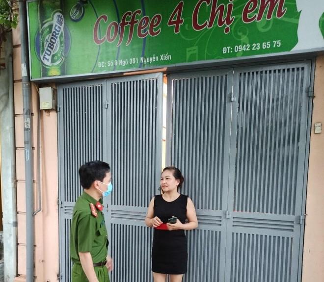 Công an quận Thanh Xuân phạt hơn 80 trường hợp vi phạm các quy định về phòng chống dịch Covid-19 ảnh 5