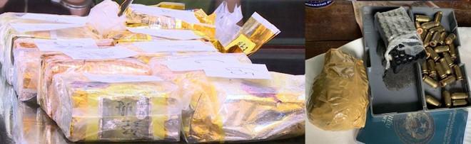 Phá đường dây vận chuyển ma túy từ Lào về Việt Nam, thu giữ nhiều ma túy, súng đạn ảnh 2