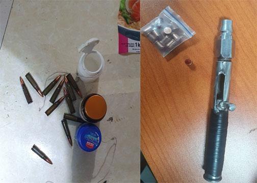 Kiểm tra nhà nghỉ, phát hiện đối tượng giấu đạn súng AK và ma túy ảnh 3