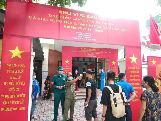 Quận Hoàng Mai: Đảm bảo hoạt động bầu cử diễn ra trong an toàn ảnh 3