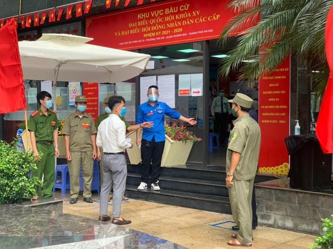 Quận Hoàng Mai: Đảm bảo hoạt động bầu cử diễn ra trong an toàn ảnh 1