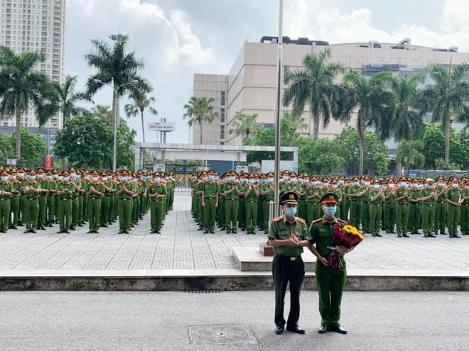 Công an Hà Nội bàn giao 724 chiến sỹ nghĩa vụ về đơn vị công tác ảnh 6