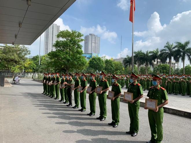 Công an Hà Nội bàn giao 724 chiến sỹ nghĩa vụ về đơn vị công tác ảnh 5