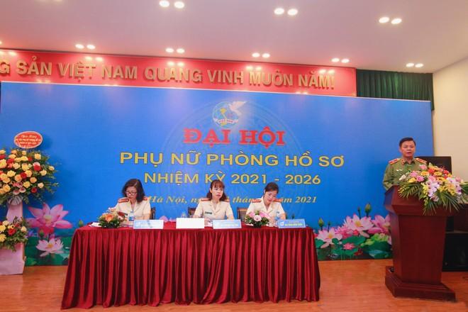 Công an Hà Nội tổ chức thành công Đại hội phụ nữ cấp cơ sở ảnh 1