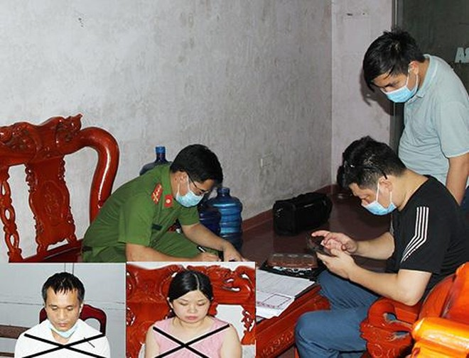 Đôi nam nữ điều hành đường dây mua bán dâm giá 1,5 triệu đồng mỗi lượt ảnh 1