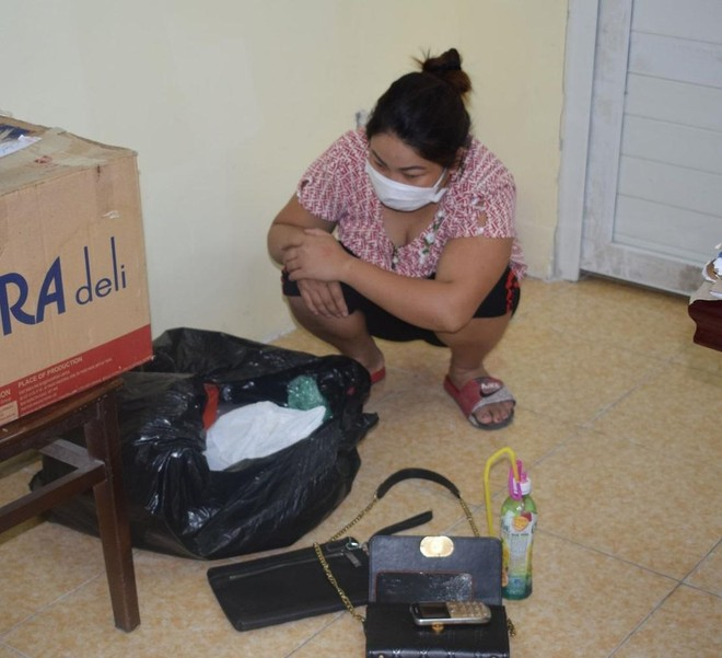 Bắt 'nữ quái' chuyên cung cấp ma túy cho người nghiện ảnh 1