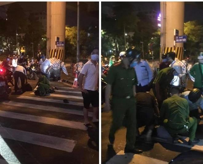 Khống chế đối tượng đập phá cây ATM tại Hoàng Cầu ảnh 1