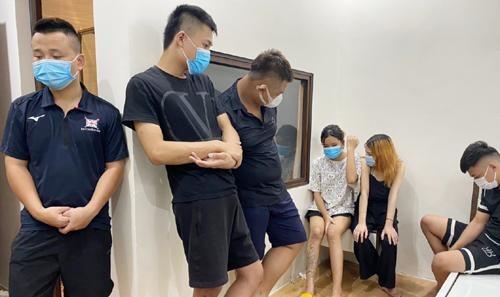 Bắt quả tang 7 thanh niên nam nữ tụ tập sử dụng ma túy trong nhà nghỉ ảnh 1
