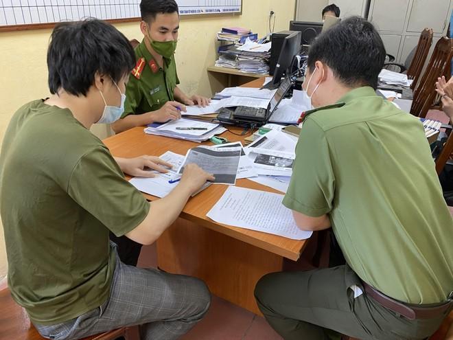 Xử phạt nam thanh niên đăng thông tin xúc phạm uy tín lực lượng chức năng ảnh 1