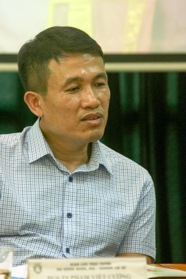 PGS. TS Phạm Việt Cường, Giám đốc Trung tâm nghiên cứu chính sách và phòng chống chấn thương - Đại học Y tế công cộng - Bộ Y tế