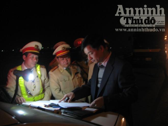 Quét vi phạm ban đêm trên các tuyến quốc lộ ảnh 5