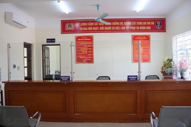 Khánh thành trụ sở Đội CSGT số 14 tại Hoàng Mai