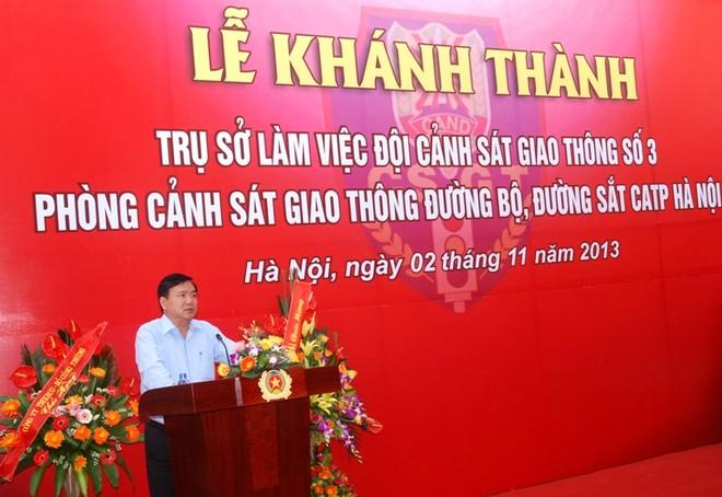 CATP Hà Nội khánh thành trụ sở Đội CSGT số 3 ảnh 1