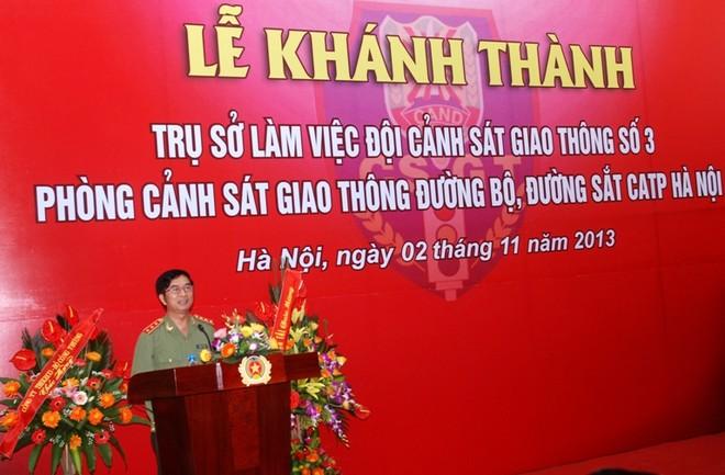 CATP Hà Nội khánh thành trụ sở Đội CSGT số 3 ảnh 2